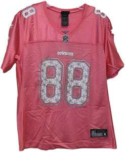 Dallas Cowboys Star Struck Jersey Pink   D.Bryant & M.Austin