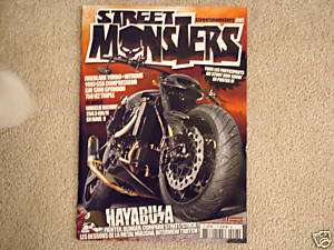 STREET MONSTER MAGAZINE GSXR HAYABUSA STREETFIGHTER
