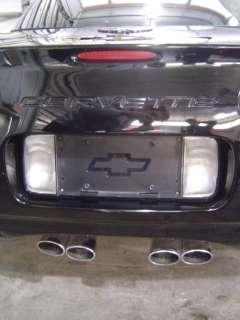 97 04 Chevrolet C5 Corvette OEM Rear Bumper Assembly Black