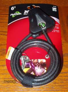MASTER LOCK PYTHON CABLE FOR MOULTRIE i40 i45 BOX NEW 071649216671