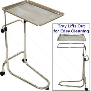 MAYO STAINLESS STEEL TRAY MEDICAL DENTIST DOCTOR SALON