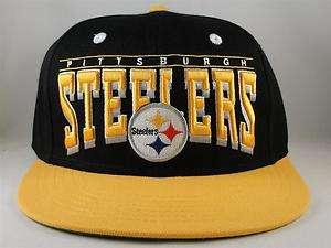 NFL PITTSBURGH STEELERS RETRO SNAPBACK HAT CAP FLAT BILL GREEN