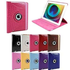 360 Rotating Swivel Magnetic Smart Leather Stand Cover Case Ipad 2