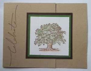 Stampin Up handmade greeting card Celebrate TREE PY LOT