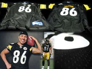 Hines Ward Pittsburgh Steelers RBK Home Jersey 2XL . It is officially