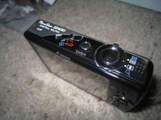 Canon PowerShot SD630 Digital ELPH 6.0 MP Digital Camera + LEATHER
