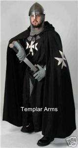 will curtsey medieval knights of st john cape maltese cross sca larp