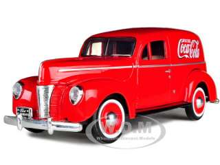 model of 1940 ford sedan delivery coca cola truck die cast car model