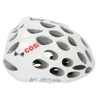 New Cool EPS PVC 39 Vents Sports Bike Bicycle Cycling White Helmet