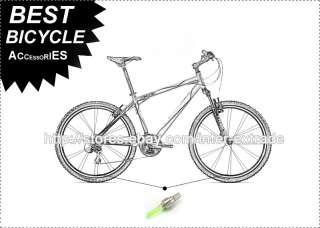 Cycling Motor Bike Car Tire Wheel Flash Green LED Light