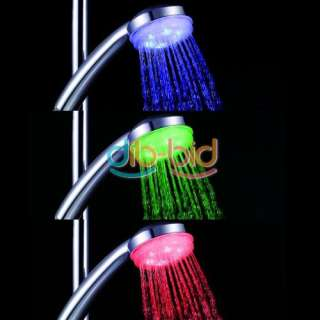 Temperature Sensor Automatic Control 3 Color LED Hand Held Spray
