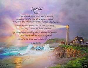 GIFT FOR SOMEONE SPECIAL PERSONALIZED FRIEND POEM