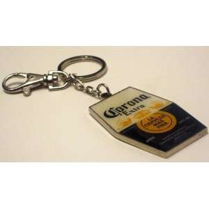 Licensed Corona Extra Beer Cerveza Keychain Key Ring: Kitchen & Dining