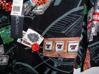LAS VEGAS CASINO GAMBLING HAWAIIAN SHIRT choose size