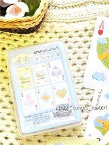 Sanrio Cinnamoroll Dog Playing Play Card w/ Case Box
