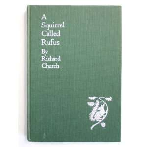 Called Rufus Richard Church; Illustrator John Skeaping Books