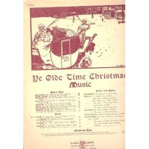 Ye Olde Time Christmas Music   Christmas Song Cantique De