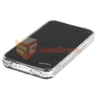Clear Cover Case+2 Charger+Cable+Film For iPhone 4 4S 4G 4GSth 4G