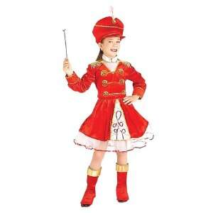 Lets Party By Forum Novelties Inc Drum Majorette Child Costume / Red