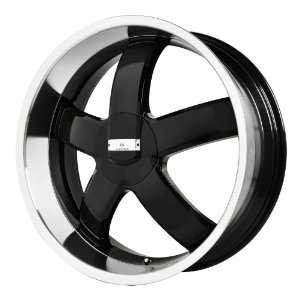 Verde Custom Wheels Skylon Black Wheel with Machined Lip