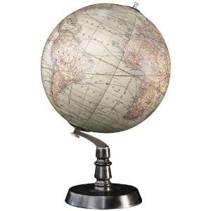 1920s Chicago Style Art Deco Globe on Stand: Home