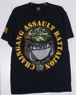 WWE John Cena Chain Gang Assault Battalion Adult Shirt