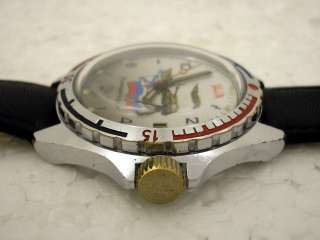 VOSTOK COMMANDER VINTAGE USSR RUSSIAN MILITARY WATCH