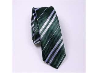 NEW Harry Potter Slytherin Costume Set Neck Tie + Scarf Green