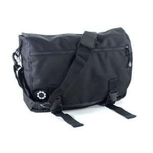 DadGear Basic Black Messenger Bag   TinyRide Baby