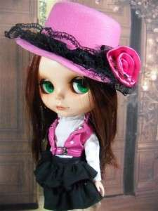 OOAK  Custom Modify Face Blythe Doll Takara Neo 12 Bohemian Peace