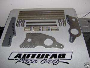 Autofab Race Cars 4 Link Kit Drag Racing Chrome Moly