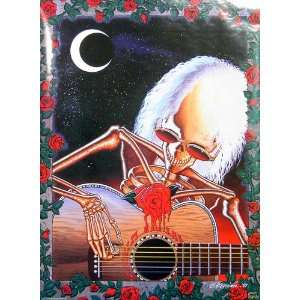 Grateful Dead   Skeleton Playing Guitar 22x31 Poster: Home