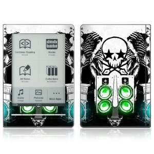 DJ Skull Design Protective Decal Skin Sticker for Sony