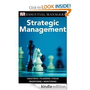 Strategic Management (Essential Managers) eBook Kevan