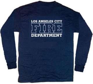 Los Angeles City Fire Dept. T shirt L Long Sleeves