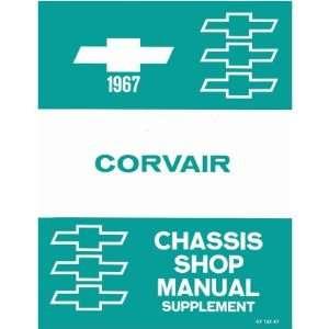 1967 CHEVROLET CORVAIR Shop Service Repair Manual Book