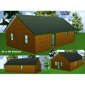 ... Package Blueprints Material List Easy Cabin Designs 16X32CC 16X32CC