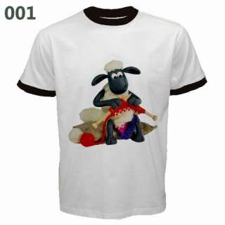 SHAUN THE SHEEP RINGER SHIRT COLLECTION ASSORTED DESIGN