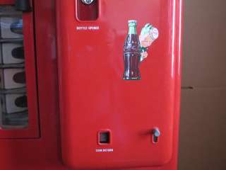 Vintage Cavalier Coca Cola Coke Vending Machine Restored