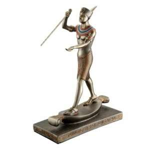 Tutankhamun the Harpooner Egyptian Statue  Home & Kitchen