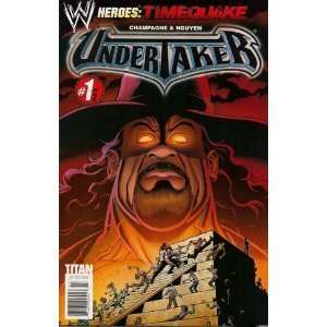 WWE Heroes #7 Timequake Undertaker Part 1 Art Cover: champagne: Books