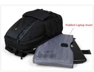 DSLR SLR Professional Camera 15 Laptop Backpack Fastpack Bag Canon