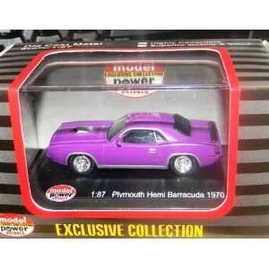 19450 70 Plymouth Hemi Barracuda Purple: Toys & Games