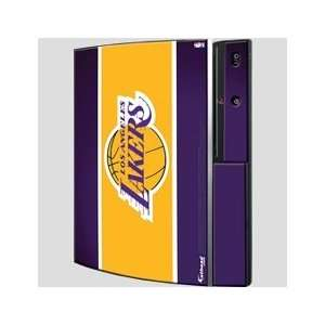 Playstation 3 Los Angeles Lakers Logo Skin What