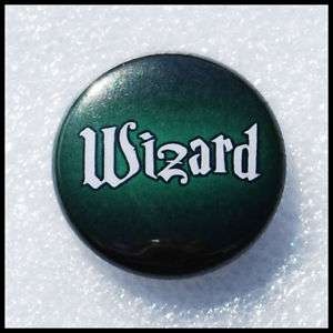 Wizard   Green   Harry Potter   Party Favors   Button