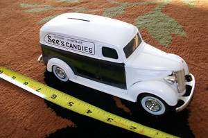 SEES CANDIES ERTL PANEL VAN DIECAST COLLECTABLE BANK