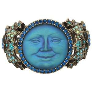 New Kirks Folly Stars Eyes Seaview Moon Cuff Bracelet