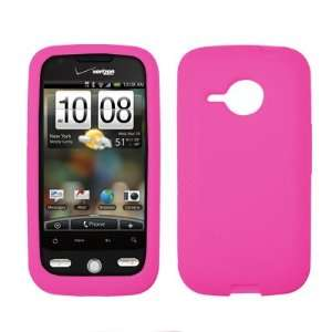 HTC Droid Eris Premium Hot Pink Silicone Skin Case Cover