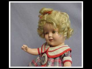 IDEAL 13 Shirley Temple Doll COMPOSITION ADORABLE & PERFECT SIZE ALL