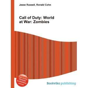 Call of Duty World at War Zombies Ronald Cohn Jesse